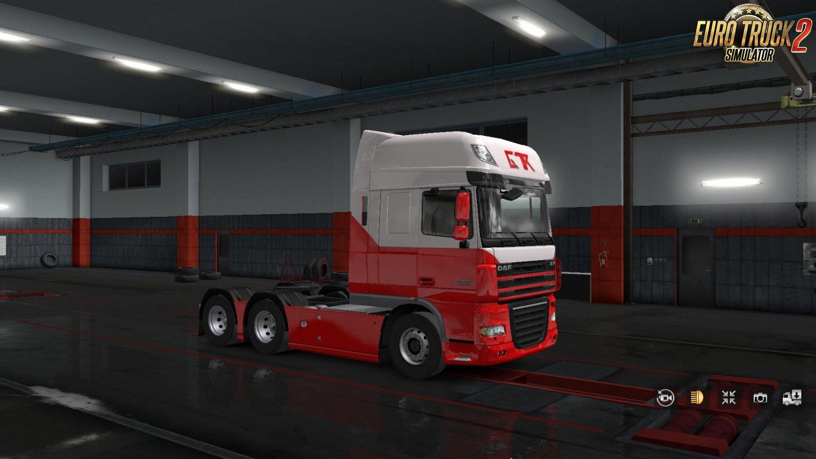 Transport & Logistics Skin Pack for DAF XF 105 in Ets2