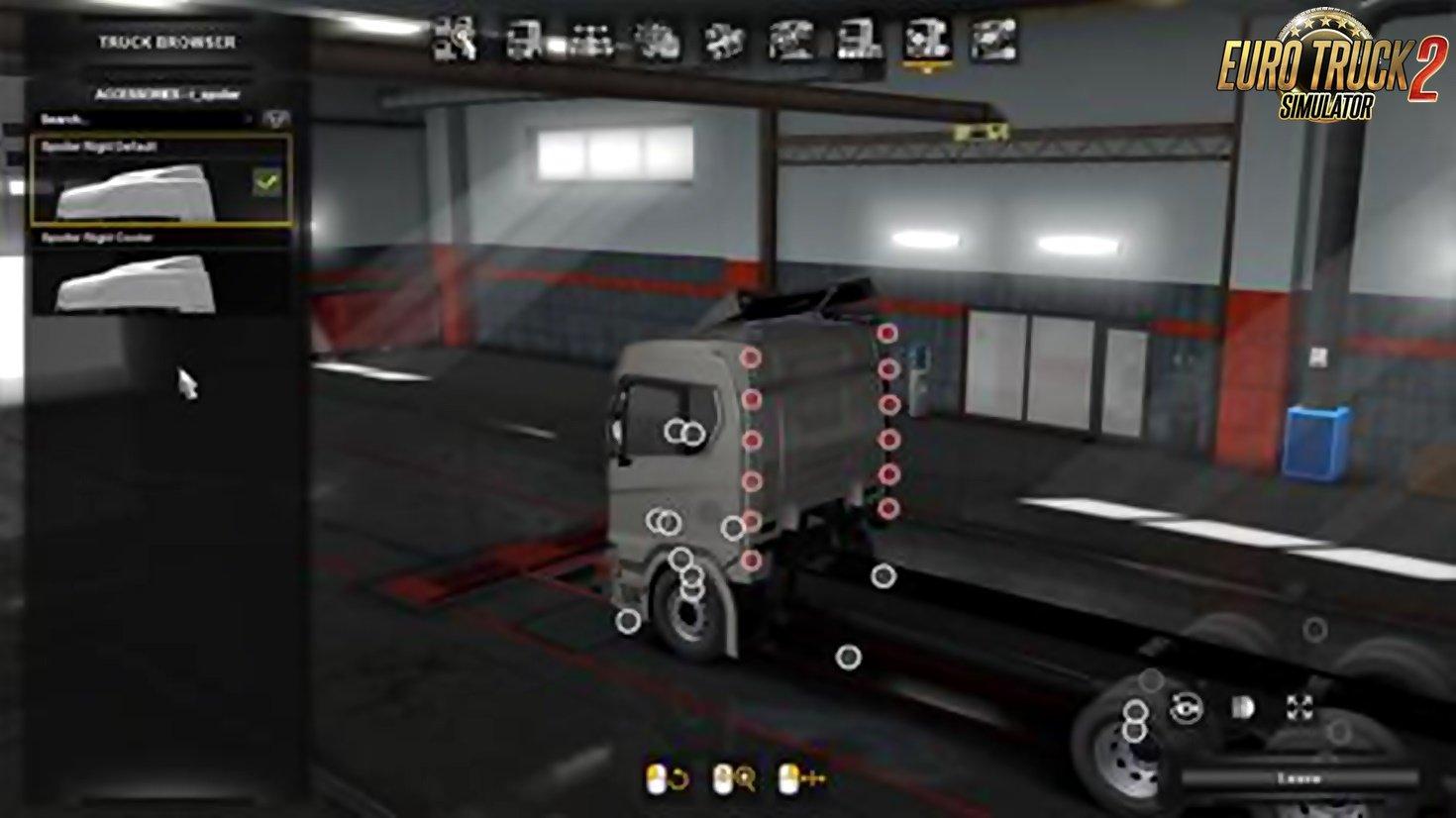 Scania Next Gen Tandem Spoiler Slots v1.1 [1.34.x]