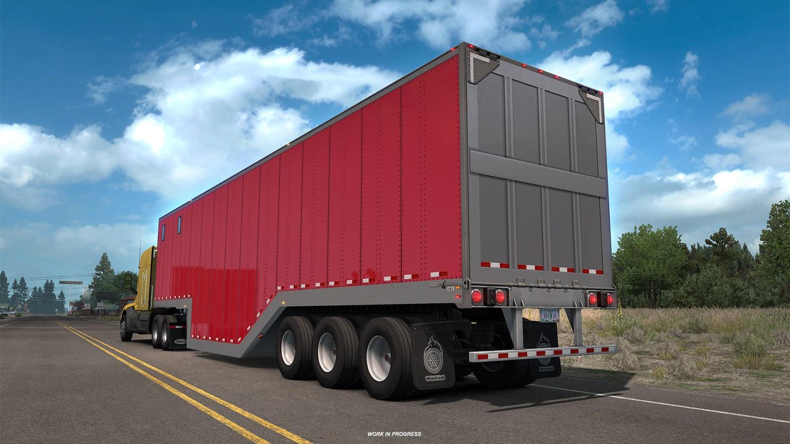 Trailer News Part 1 for American Truck Simulator