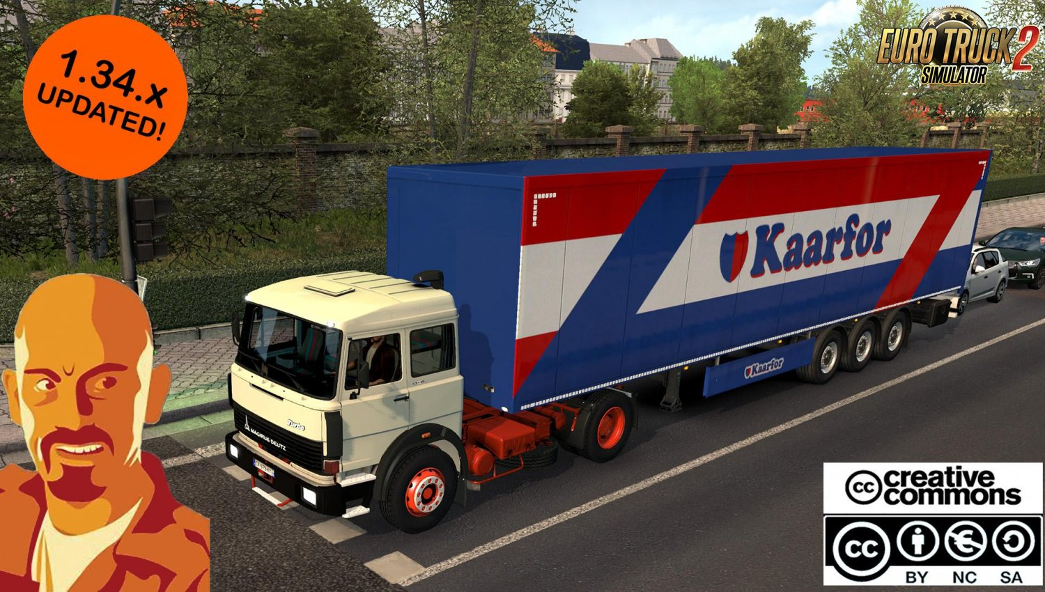 Truck Magirus Deutz 360M for Ets2 [1.34.x]