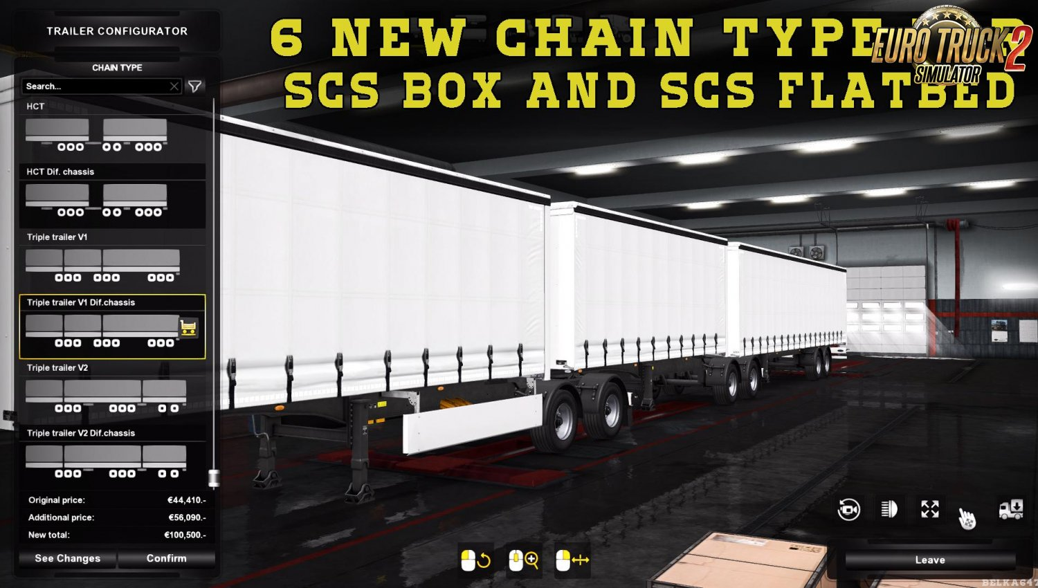 Mega Customization Owned Trailers v1.0 for Ets2 [1.34.x]
