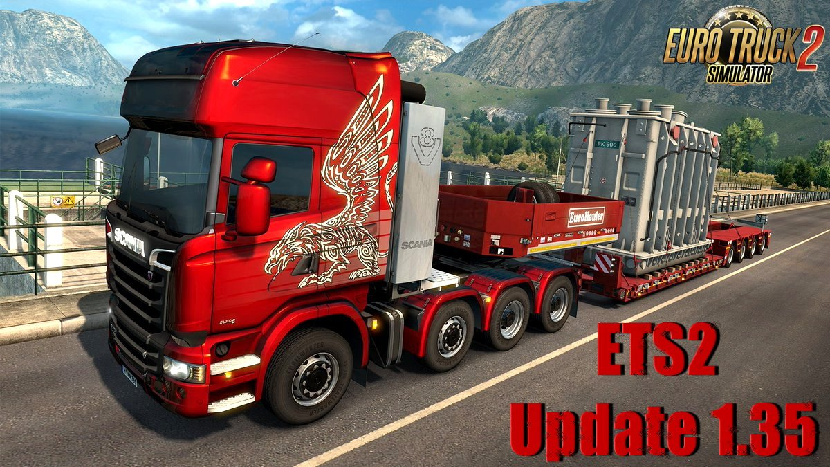 ETS2 Update 1.35 Closed Beta Testing