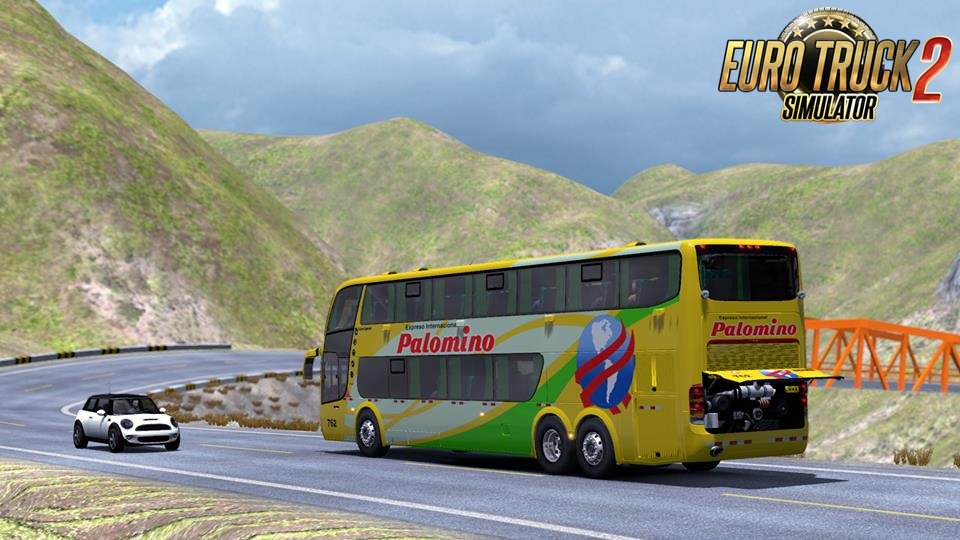 Andes Peru Map v1.0 (1.34.x) for ETS2