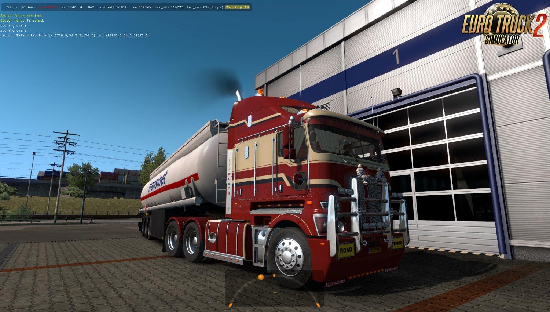 RTA-Mods Kenworth K200 v14.3 for Ets2