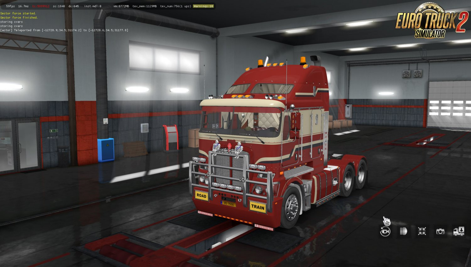 RTA-Mods Kenworth K200 v14.3 (BSA Edit) (1.35.x) for ETS2