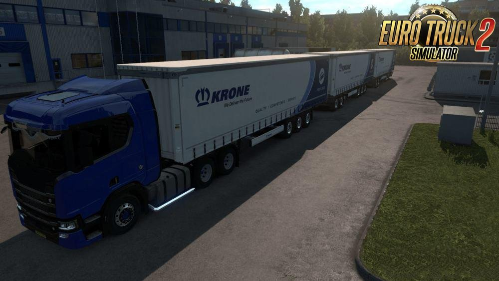 Triple Krone High Capacity Trailer for Ets2