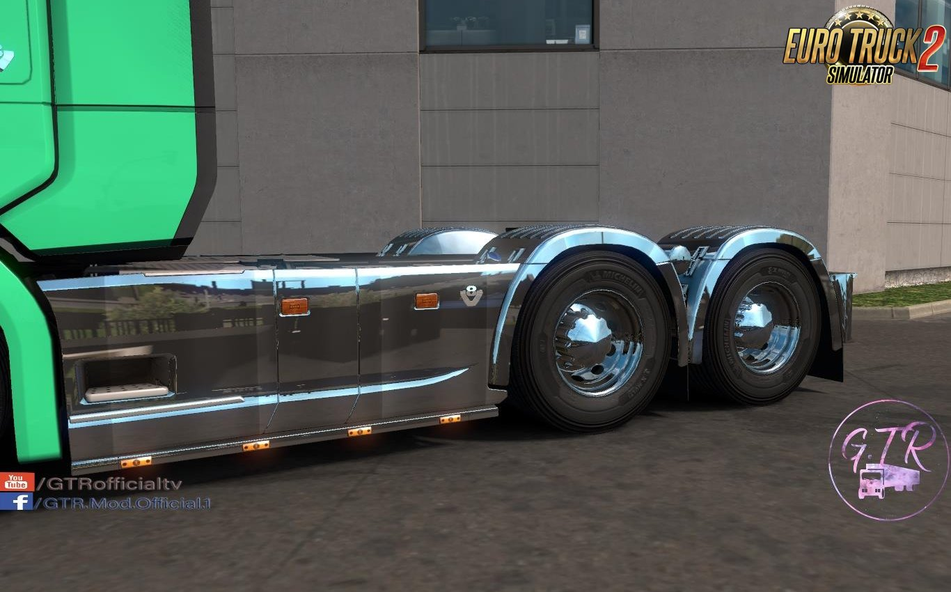 Scania S & R Next Gen Accessories Chrome by GTR