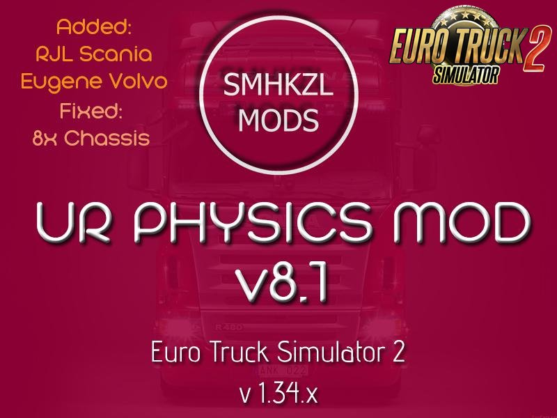U.R Physic Mod v8.1-SmhKzl Mods [1.34.x]