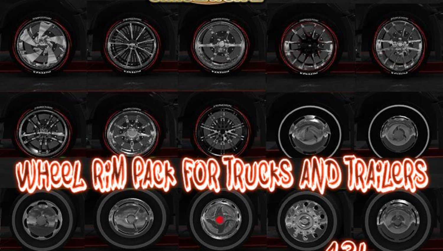 Wheel Rim Pack for Trucks and Trailers [1.34.x]