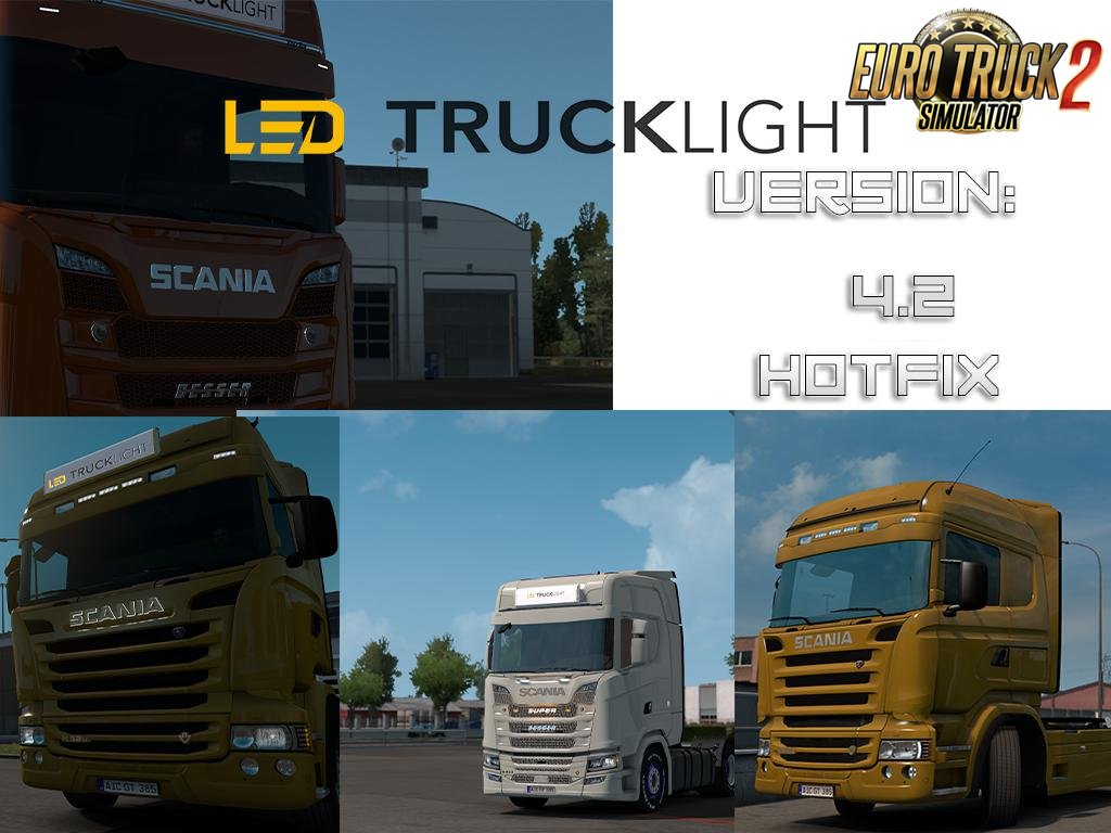 LED Trucklight Mod v4.2-Hotfix for Ets2