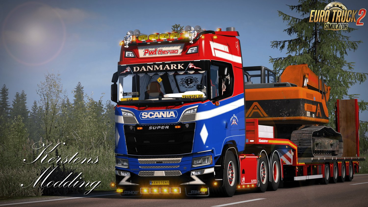 Skin PWT Thermo for Scania Next Genration S and R v1.0 (1.34.x)