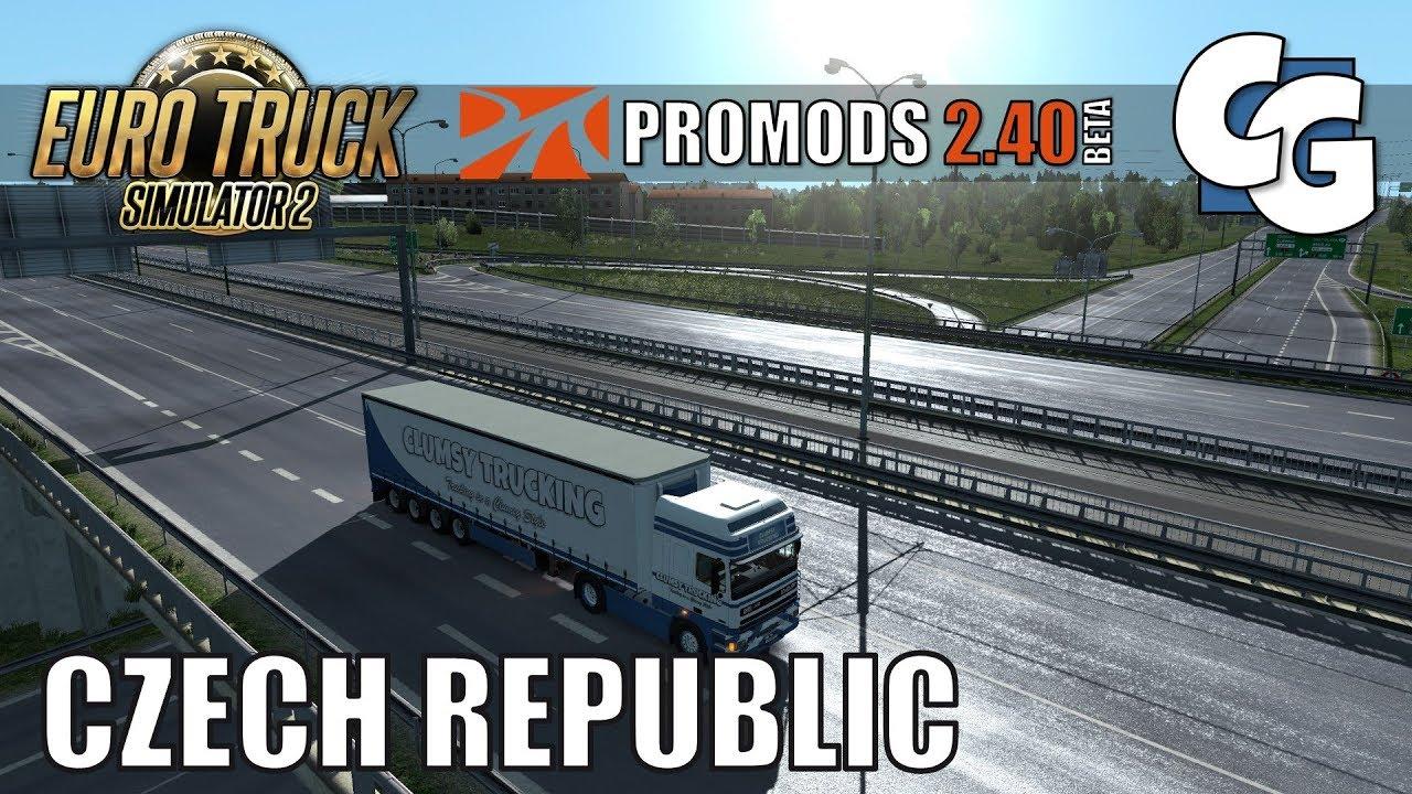 ProMods Map 2.40 (1.34.x) - Euro Truck Simulator 2