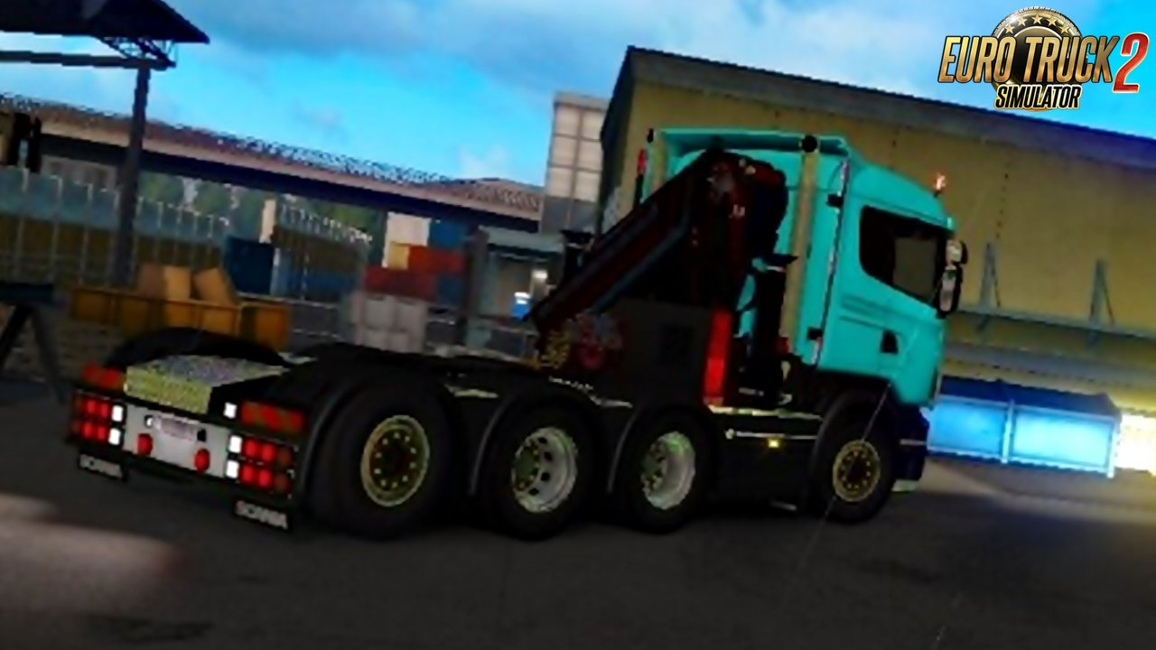 Pendragon Crane for Scania R4 (RJL)