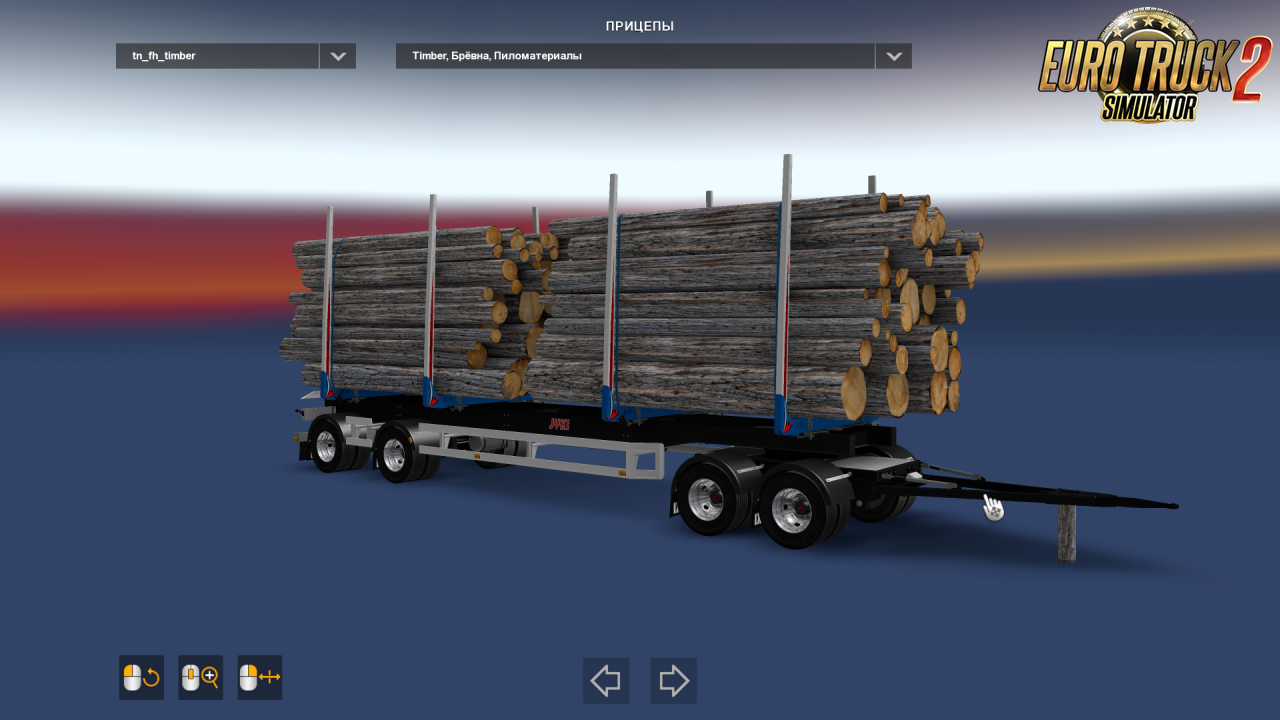 Timber Trailers Volvo FH16 v1.0