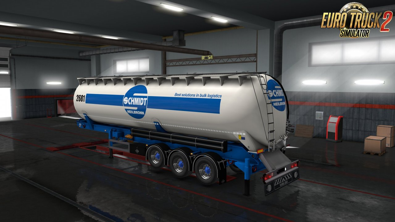 Owned Feldbinder silo trailer v1.1 for Ets2