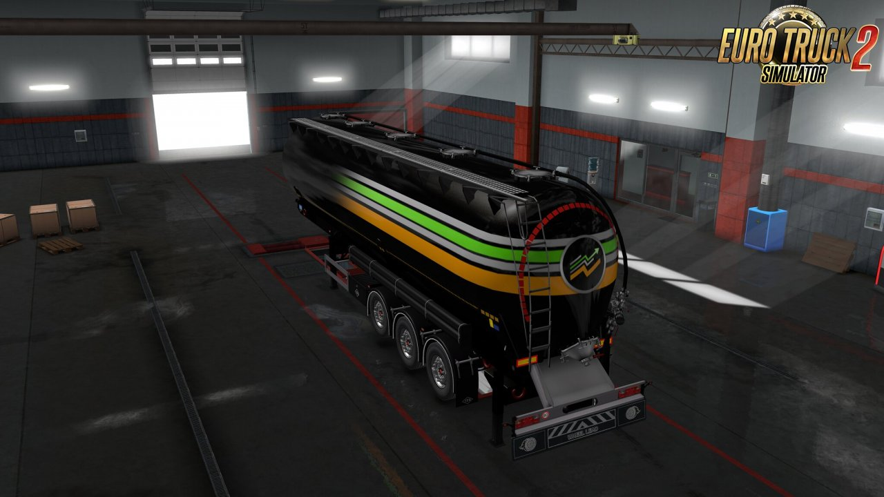 Owned Feldbinder silo trailer v1.0 for Ets2