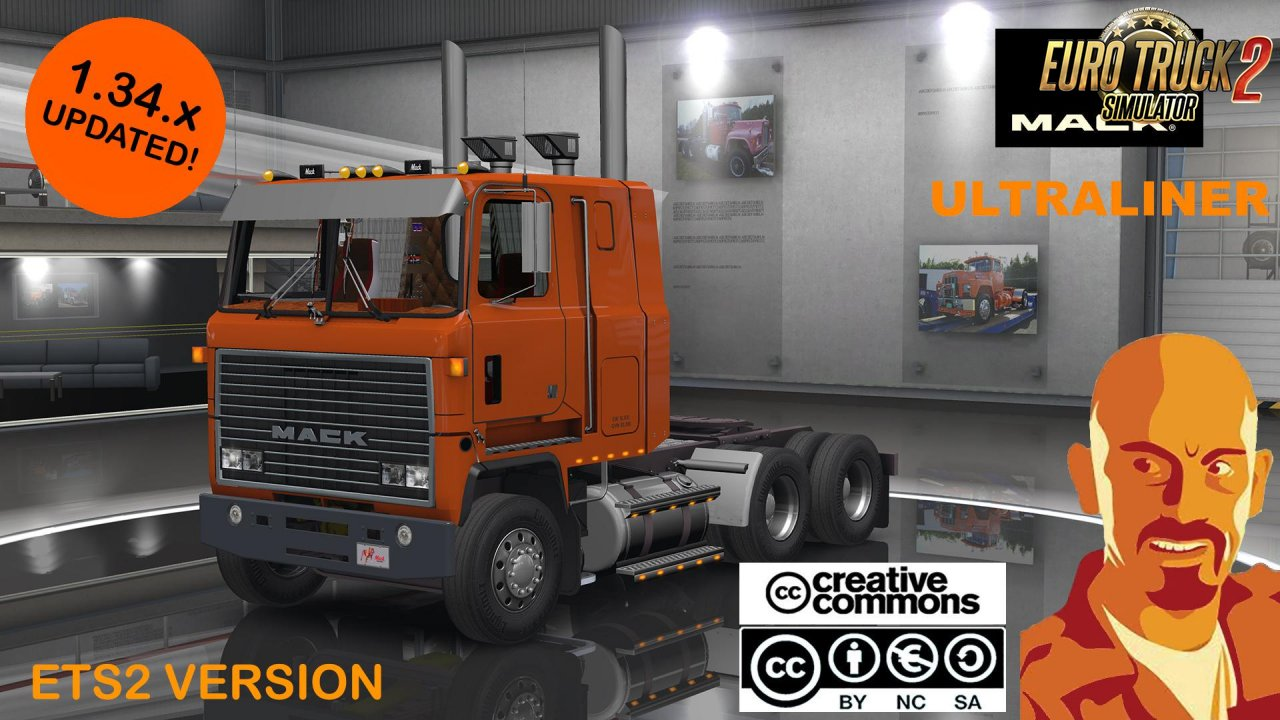 Mack Ultraliner for Ets2 [1.34.X]