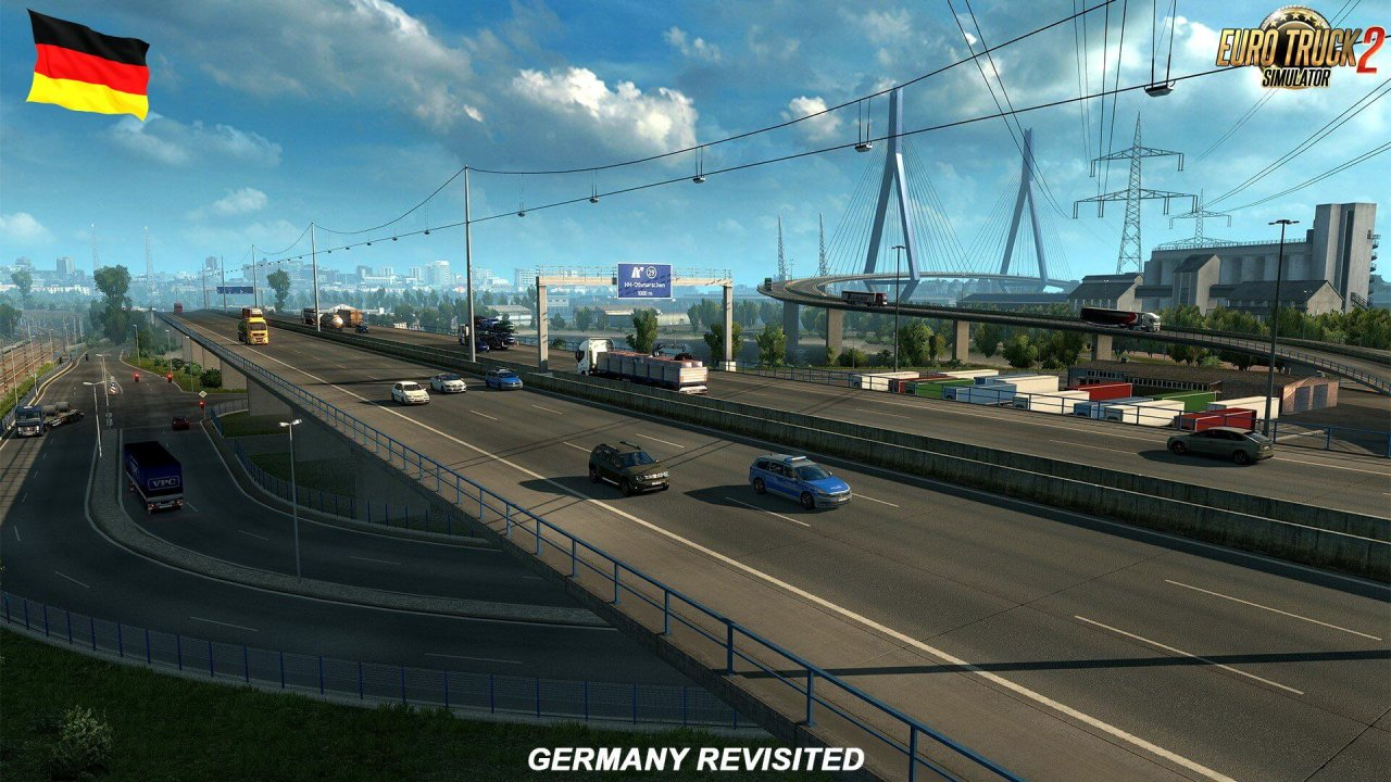 Revisiting Germany Vol. 2 for ETS2