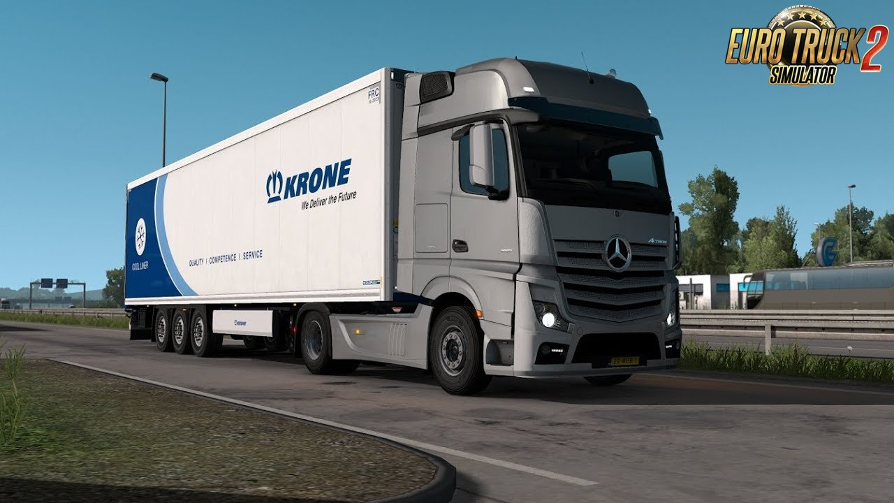 Mercedes Actros MP4 OM471 engine sound 2.0 (1.38.x)