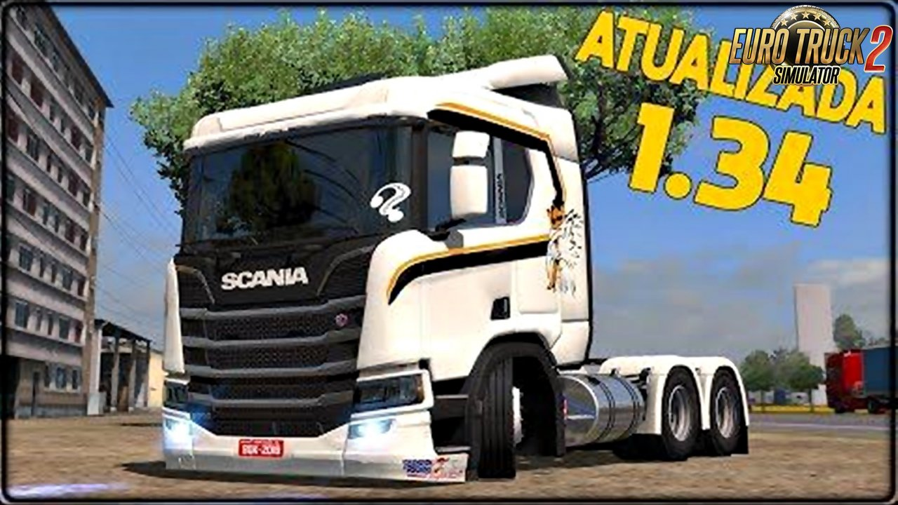 New Scania + Wheel Pack + Skin Pack