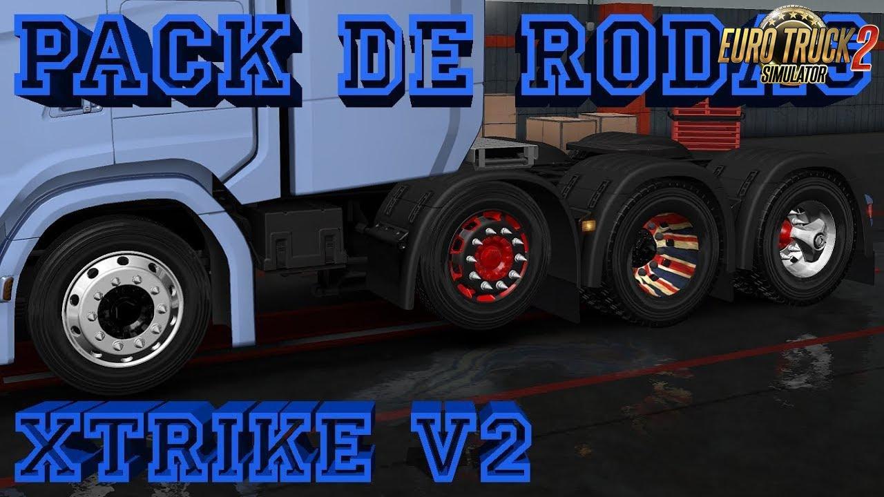 New Scania + Wheel Pack + Skin Pack