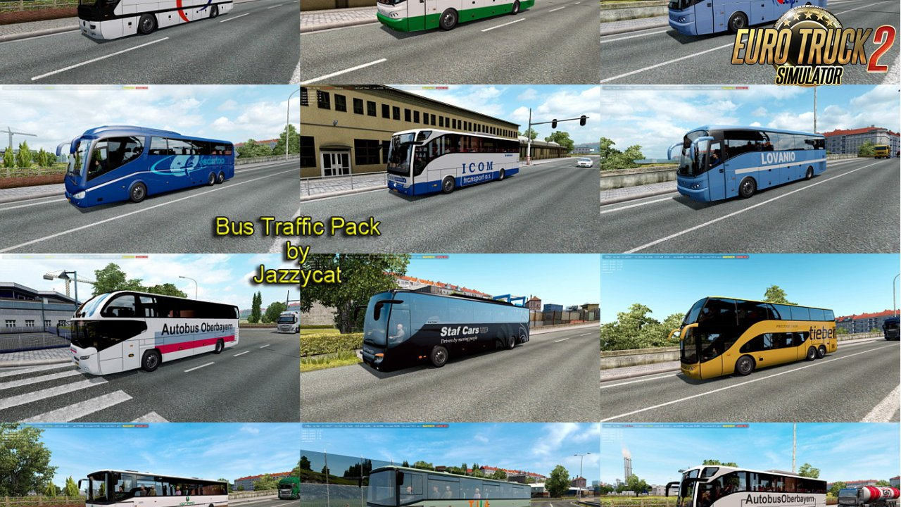 Bus Traffic Pack v6.8 by Jazzycat (1.34.x)