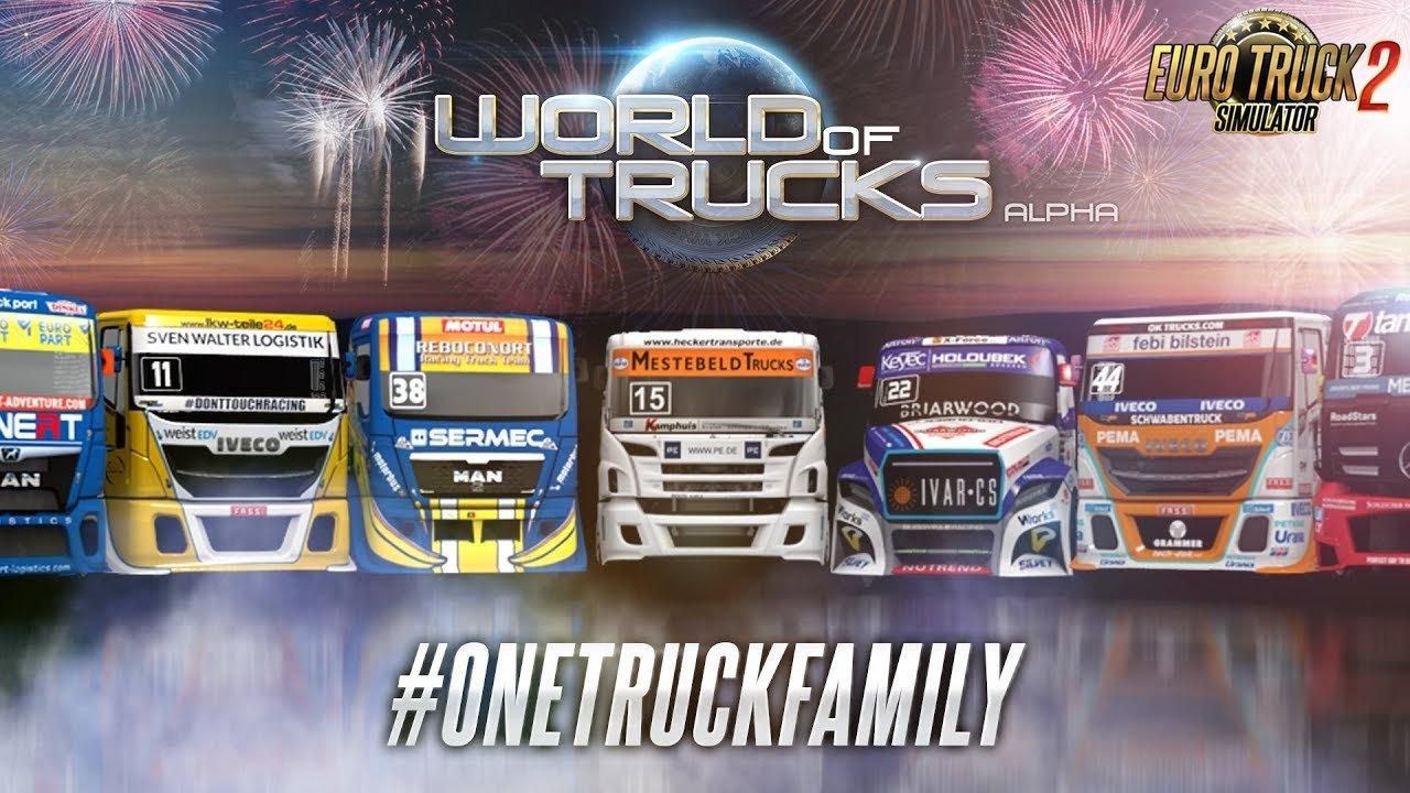OneTruckFamily event - Euro Truck Simulator 2