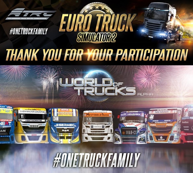 Conclusion of the #OneTruckFamily event