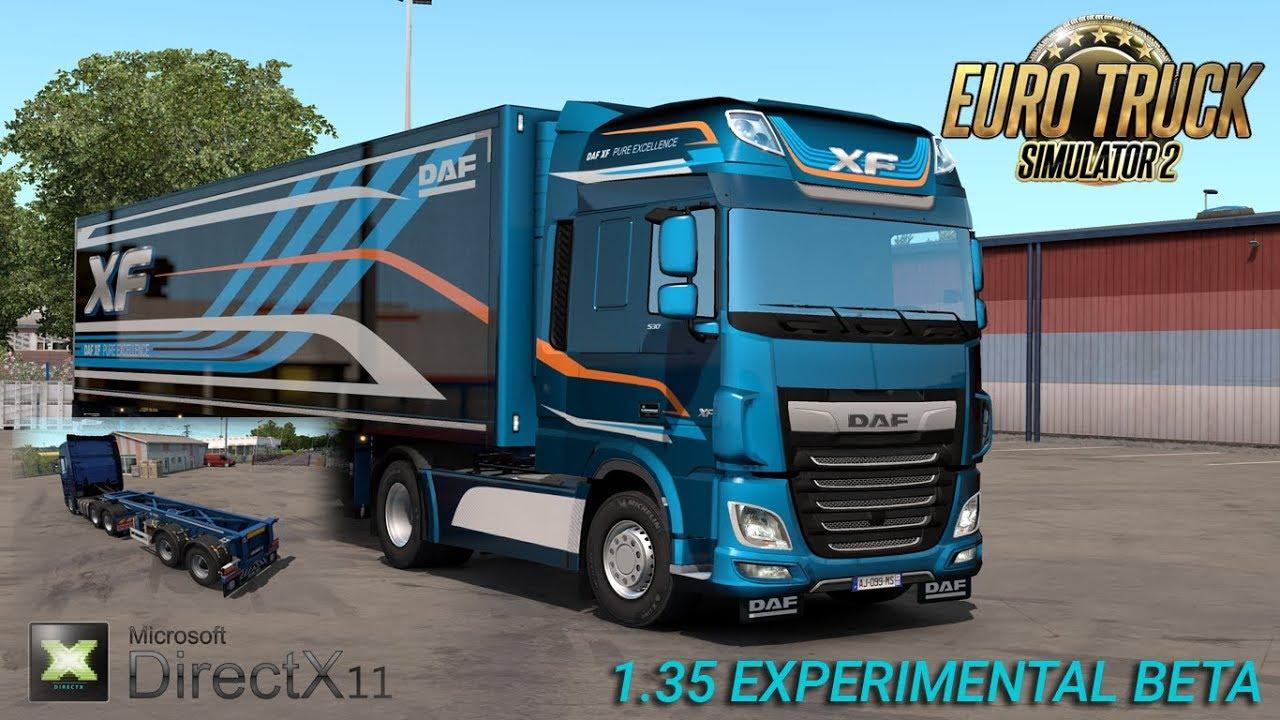 ETS2 1.35 Experimental Beta - Euro Truck Simulator 2