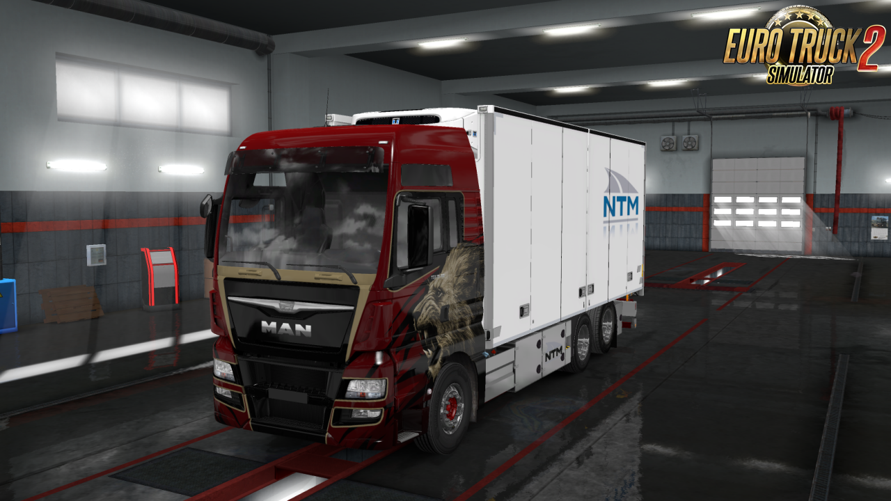 Rigid Chassis for all SCS Trucks v1.1 in Ets2