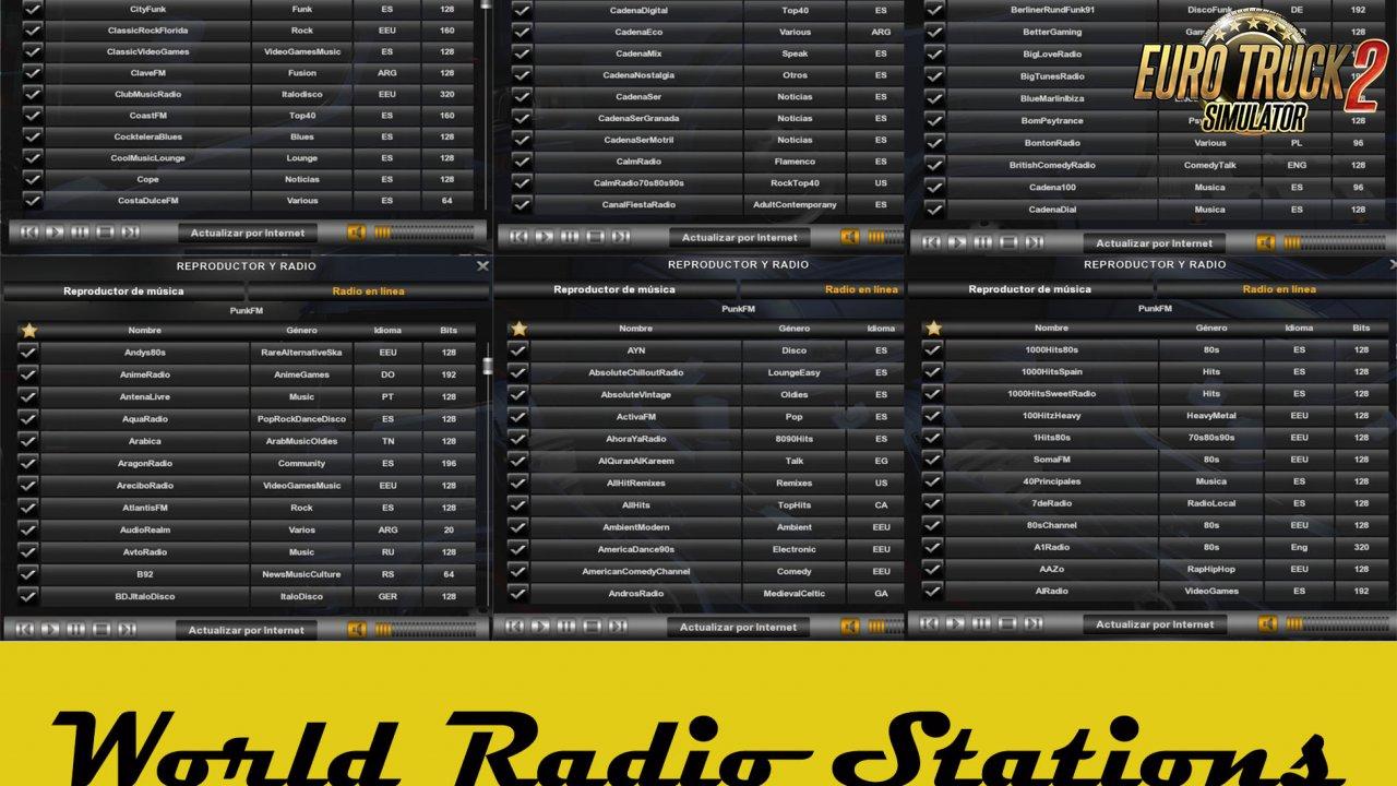World Radio Stations V11