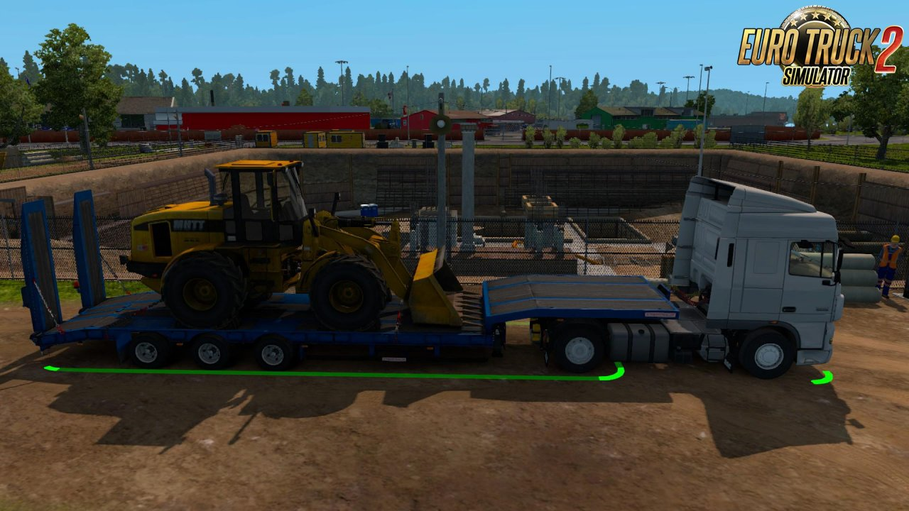 Schwarzmüller Low Bed Semi Trailer in Ownership v1.0 for Ets2