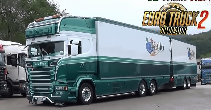 Scania R730 Gallo Trasporti combo Skin v1.0 (1.35.x)