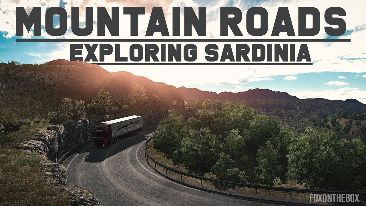 Exploring Italy Sardinia: Incredible Mountain Roads - Euro Truck Simulator 2