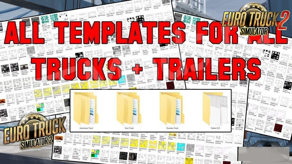 All Templates for all Trucks + Trailers v1.0 (1.35.x)