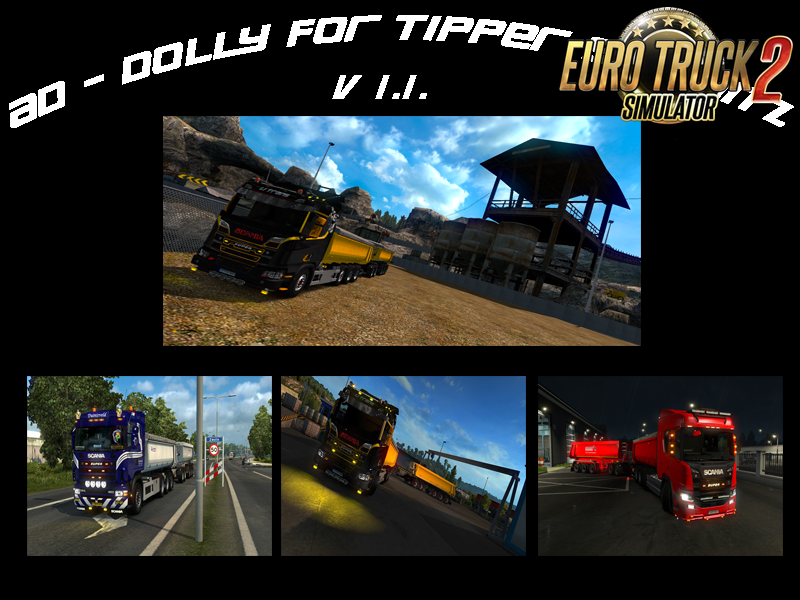 AD - Dolly for Tipper Schmitz v1.1 for Ets2