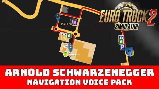 Arnold Sschwarzenegger - Voice Navigation [1.35.x+]