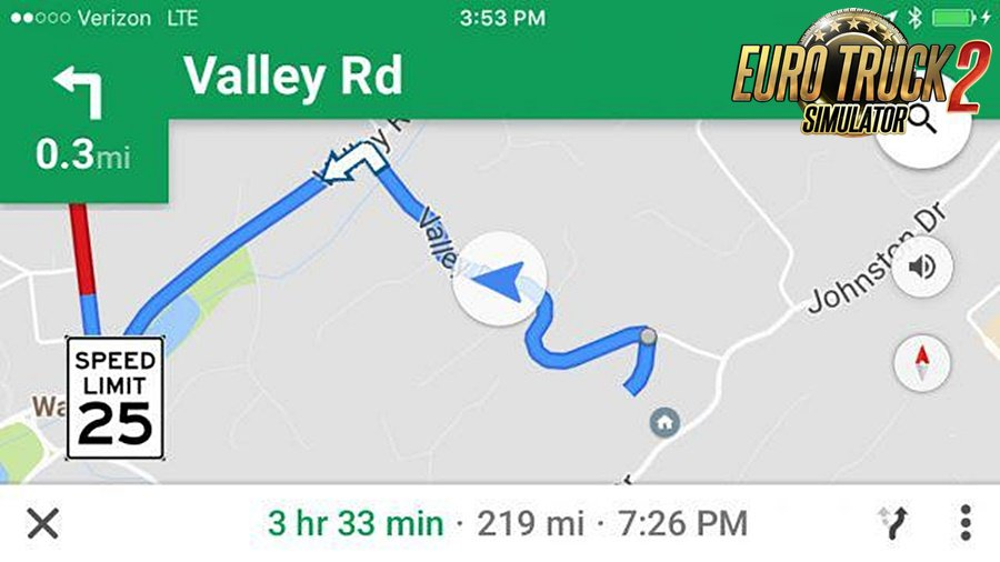 Google Maps Voice Navigation v1.0 (US English)