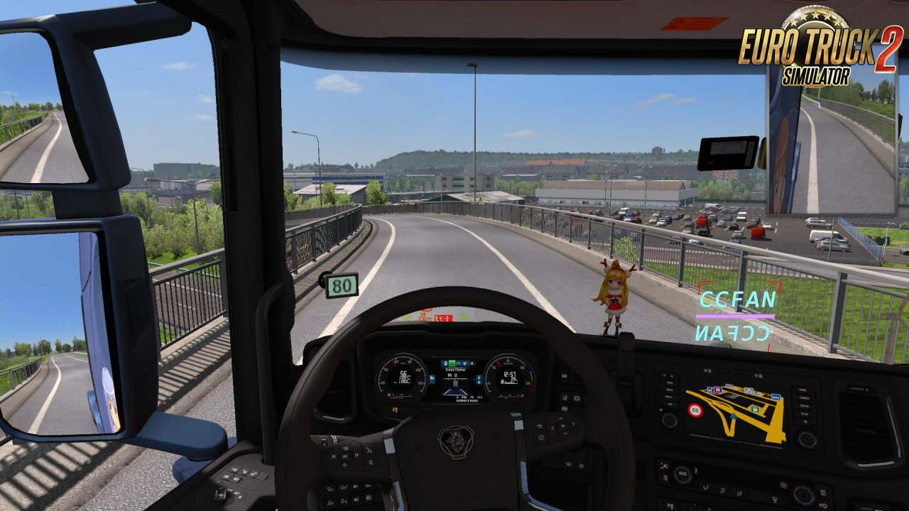 Speed Limit Indicator-Update for Ets2