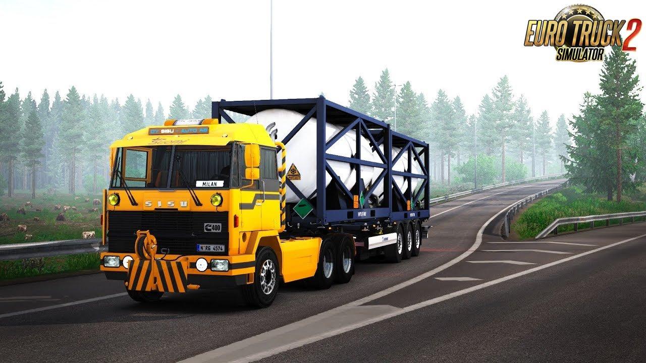 Sisu M-series v1.2 (1.35.x) - Euro Truck Simulator 2