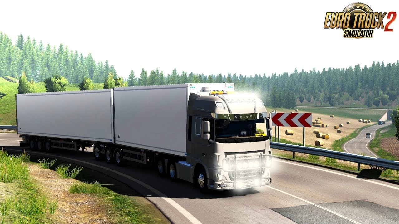 DAF Euro 6 Tuning Pack (1.35.x) - Euro Truck Simulator 2