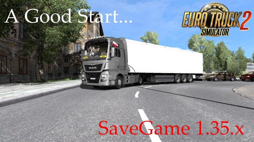 Save Game Profile for ETS2 1.35.x v1.0 by Kuba6