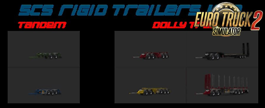 SCS Rigid trailers by Teklic v1.2. [1.35.x]
