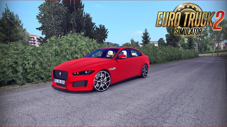 New Jaguar Xe + Interior v1.0 by Mert İrşi (1.35.x)
