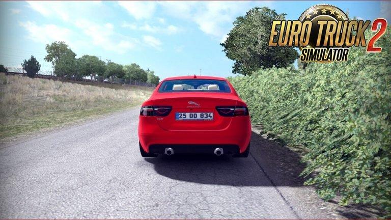 New Jaguar Xe + Interior v1.0 by Mert İrşi (1.35.x)
