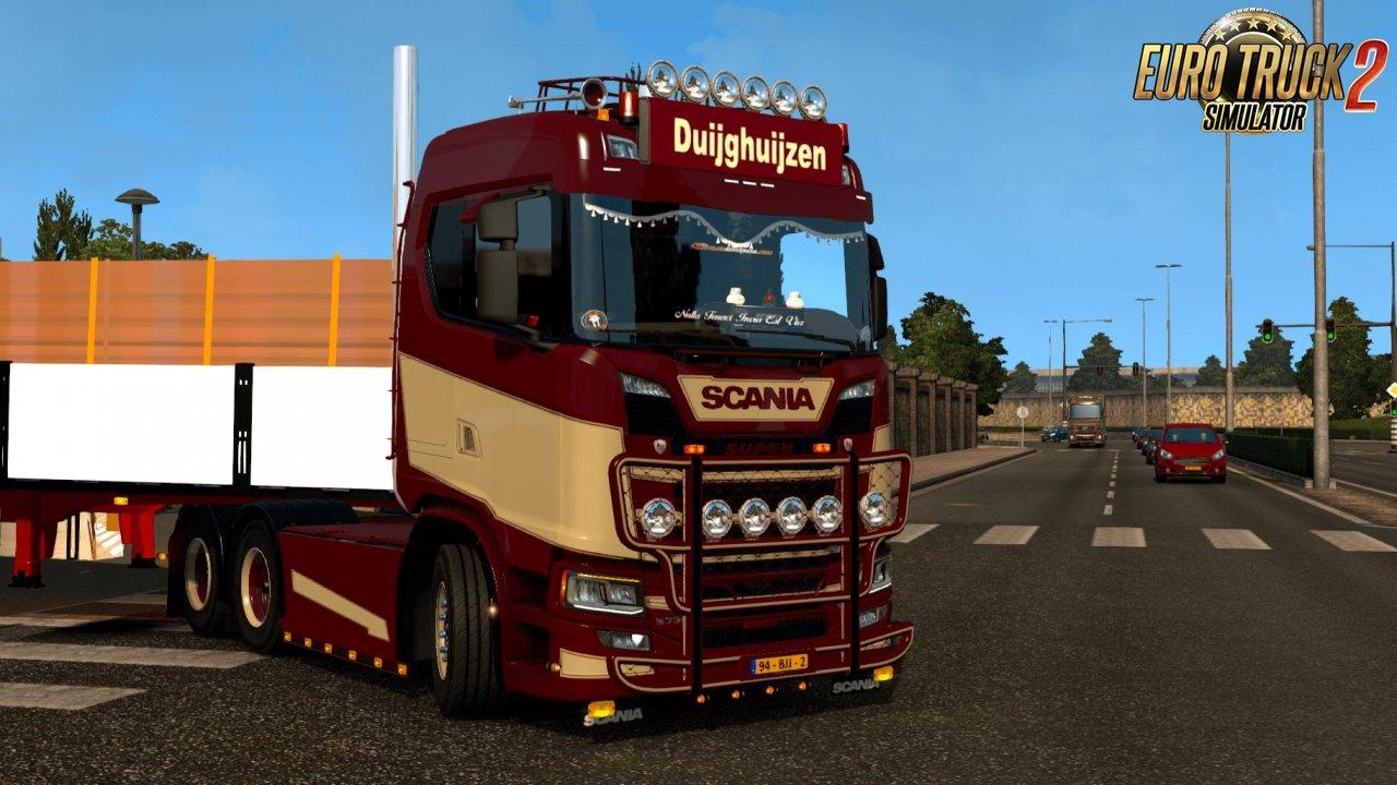 Scania S Duijghuijzen Skin v1.0