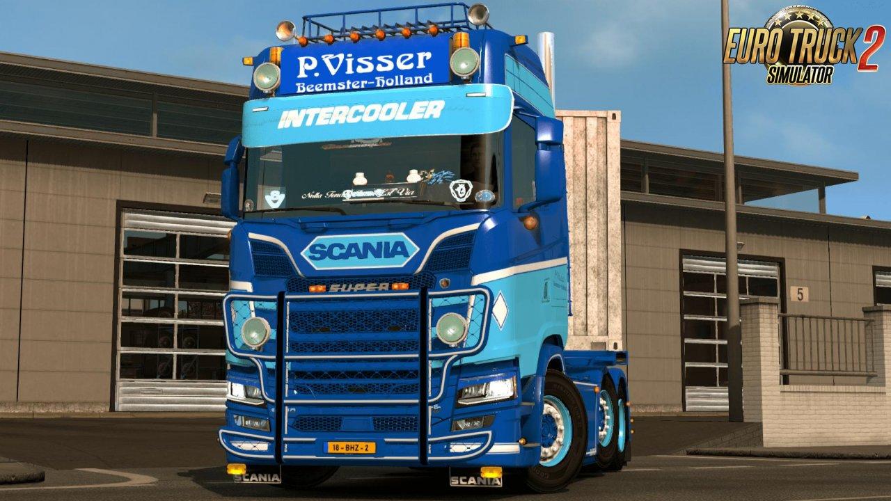 Scania S P. Visser Skin v1.0