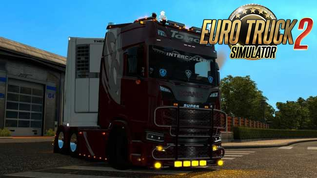Scania S Tomo Transport Skin v1.0