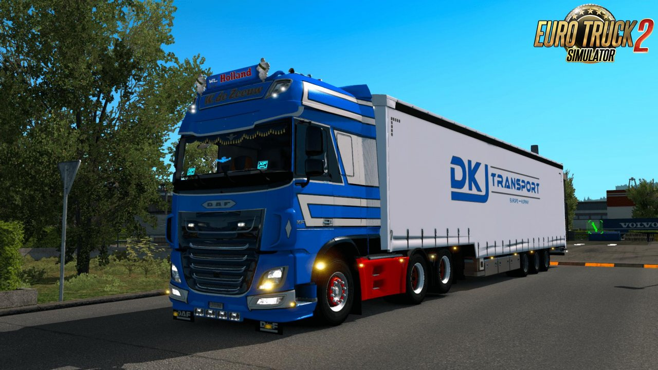 William de Zeeuw Skin Daf Euro 6 v1.0