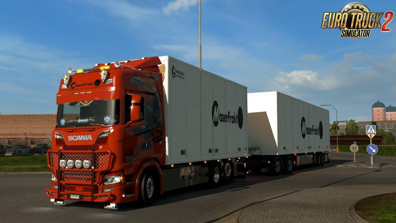 Scania S Maser Frakt Combo Skin v1.0